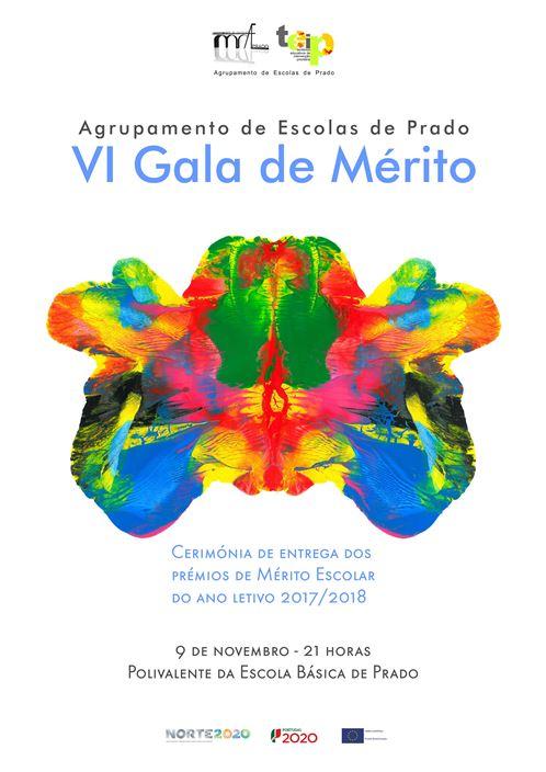 VI Gala de Mérito, dia 9 de novembro