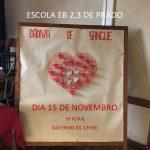 Dádiva de Sangue -15 de novembro (9h00-12h30)
