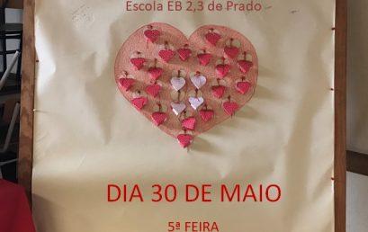 Dádiva de Sangue – 30 de maio na escola sede