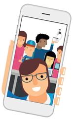 O digital faz parte do nosso dia a dia. Vamos tirar uma SELFIE ao Agrupamento?